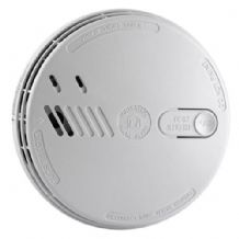 Aico Ei141 140 Series Mains Ionisation Smoke Alarm With Hush, Alkaline Battery Back Up & Mounting Plate 240V